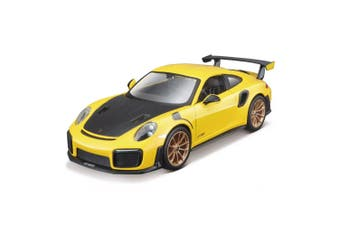 Maisto Assembly Line 1:24 Porsche 911 GT2 RS Kids 8y+ Car Model Vehicle Kit YL