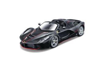 Maisto Assembly Line 1:24 LaFerrari Aperta Car Model Ferrari DIY Vehicle Toy BLK