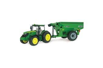 John Deere 1:16 6210R Tractor w/ Frontier Grain Lights/Sounds/Toy/Kids/Children