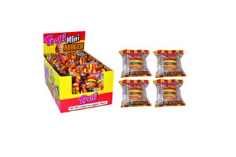 60PK Trolli Mini Burger 540g Confectionery Candy Soft Lolly/Sweet