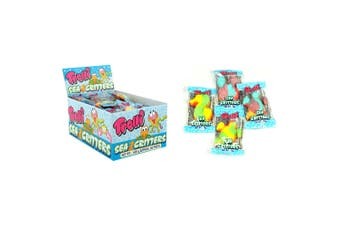 60PK Trolli Sea Critters 540g Confectionery Candy Soft Lolly/Sweet