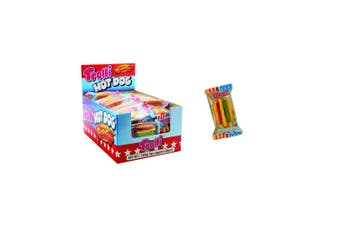 60PK Trolli Hot Dog 540g Confectionery Candy Soft Lolly/Sweet