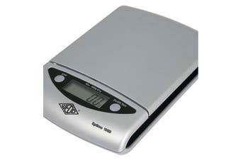 Wedo Optimo 13.5cm Kitchen/Lab 0.5g - 1kg Digital Scale 0.5g increment Silver