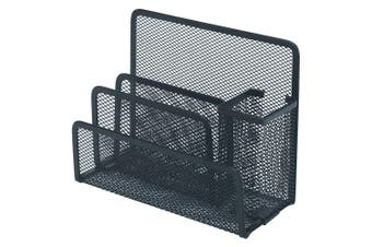 Esselte Steel Mesh Desk/Workspace/Home/Office Pen/Stationary Organiser Black