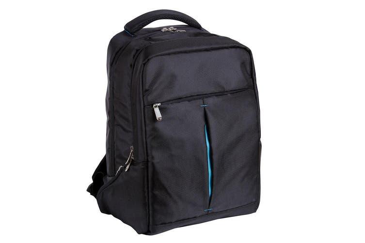 "Jastek School/Business 15"" Backpack Bag for Laptop/Notebook w/ Loop for Luggage"