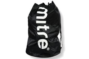 Mitre Durable 8 Ball Carrier/Bag w/Shoulder Strap for Soccer/Football/Sport