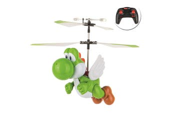 Carrera RC Super Mario Flying Yoshi Helicopter Toy for Kids/Infant w/ Controller