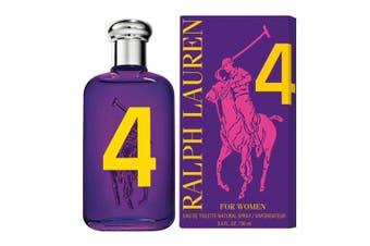 Ralph Lauren 100ml Polo Big Pony #4 Women Eau De Toilette/EDT Fragrance/Spray