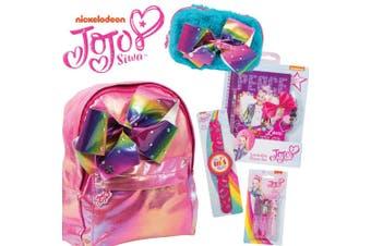 Jojo Smart Girls Squad Showbag w/ Backpack/Pencil Case/Lip Gloss/Diary & Pen