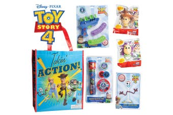 Disney Pixar Toy Story 4 Showbag w/ Squishy/Projector Torch/D.I.Y Forky Kids Set