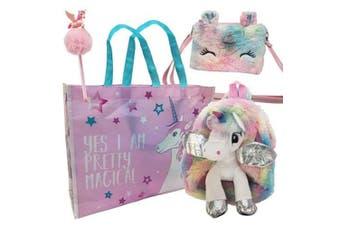 Unicorn Mystical/Magical Showbag w/ Backpack/Purse/Pencil & Topper Girls Kids