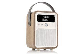 View Quest Monty DAB+ Digital AM/FM Radio/Bluetooth Speaker Green Grass Oak