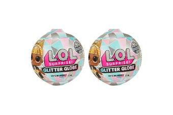 2x Lol Surprise Glitter Globe Kids/Children Toy 6y+ w/ Assorted Baby Doll Figure