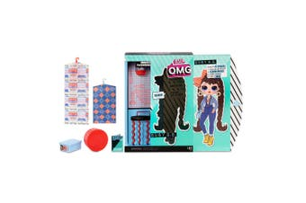 LOL Surprise OMG Fashion Doll Busy BB Kids Dress Up Toy with 20 Surprises 6y+