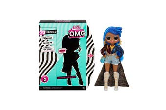 LOL Surprise OMG Fashion Doll Independent Kids Dress Up Toy With 20 Surprises 6+