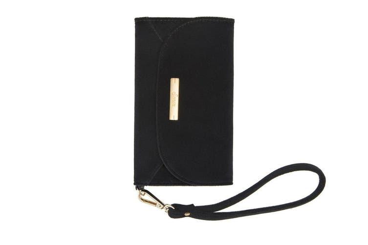Sonix Leather Wristlet Drop Proof Case w/Wrist Strap For iPhone X/XS Black