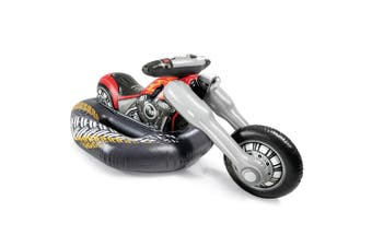 Intex 180cm Inflatable Cruiser Motorbike Ride-On Kids/Children Water Toy f/Pool