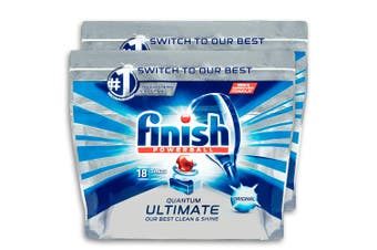 36PK Finish Quantum Powerball Ultimate Original Tabs For Dishwasher Dishwashing