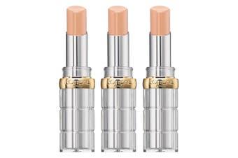 3x Loreal Colour Riche Women Lipstick Shine/Glossy Hydrating 659 Blow Your Glow