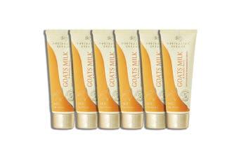 6x Australian Creams 100g Goats Milk & Manuka Honey Moisturising Hydrating Cream