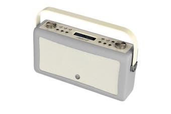 View Quest Hepburn MkII DAB/DAB+ Digital/FM Radio/Bluetooth Speaker Grey