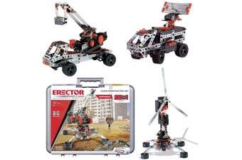 Meccano Super 25-in-1 Construction Set w/ Case Kids/Boys/Girls S.T.E.M Toy 10y+