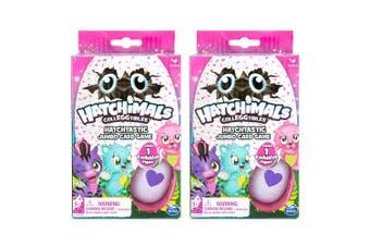 2PK Hatchimals Hatchtastic Jumbo Deck Card Game/Play Toy Kids/Child 5y+ w/Figure