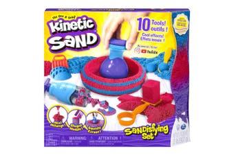 Kinetic Sandisfying Sand Art Set w/ Shaper/Slicer/Scooper/Stacker Kids Toys 3y+