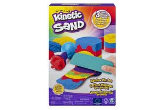 Kinetic Sand 383g Rainbow Coloured Mix Set Craft Art Toy Play Kids/Children 3y+