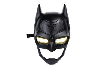 DC Batman Voice Changing Head Mask Kids/Children 4y+ Action Toy Figure Black