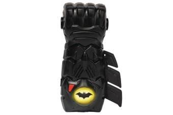 DC Batman Interactive Gauntlet Glove Kids/Child 4y+ Play Toy w/ Light/Sounds BLK