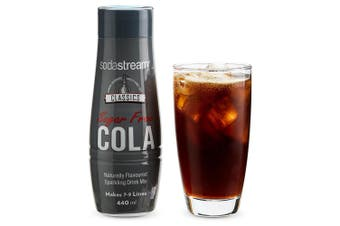 SodaStream Classics Diet Cola 440ml/Sparkling Soda Water Syrup Mix - Sugar Free