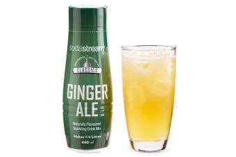 SodaStream Classics Ginger Ale 440ml/Sparkling Soda Water Syrup Drink Mix