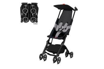 GB Pockit All Terrain Ultra Compact Light Travel Baby/Kids Stroller Velvet Black