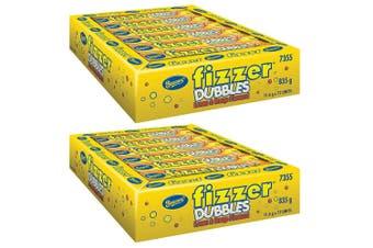 144pc Beacon Fizzer Dubbles 1.7kg Fruity Chewy Candy/Lolly/Candies Lemon/Orange