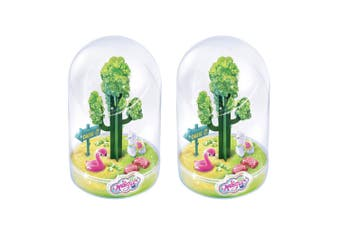 2PK So Magic Large DIY Magic Terrarium Kit/Maker Toys for Kids/Child 8y+ Desert