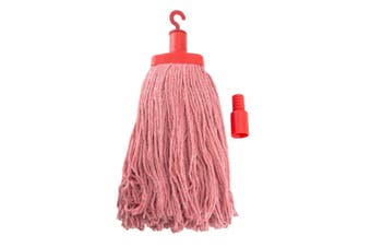 Pullman 400g Durable Floor Mop Replacement Head for Domestic/Commercial Use Red