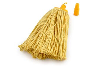 Pullman Durable Floor Mop Replacement Head for Domestic/Commercial Use Yellow