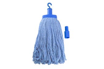 Pullman Durable Floor Mop Replacement Head for Domestic/Commercial Use Blue