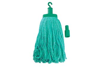 Pullman Durable Floor Mop Replacement Head for Domestic/Commercial Use Green