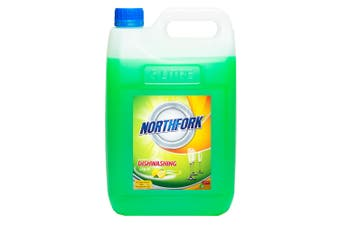 Northfork 5L Biodegradeable Dishwashing Dishes Concentrated Liquid/Soap Lemon
