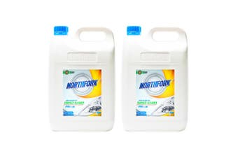 2x Northfork 5L Surface Disinfectant Liquid Cleaner Benchtop/Kitchen Table