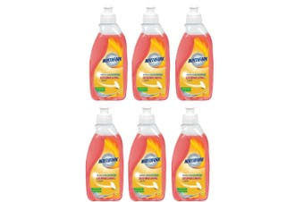 6x Northfork 375ml Biodegradable Dishwashing Dishes Concentrated Liquid/Soap