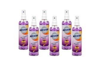 6PK Northfork 250ml Air & Surface Disinfectant Deodoriser Cleaner Spray Fruity