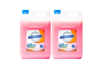 2x Northfork 5L Floor/Tiles Cleaning/Cleaner Dirt/Grease Remover w/Ammonia