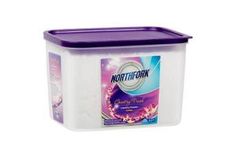 Northfork 2.5kg Laundry Detergent Powder Floral for Front & Top Loader Washing