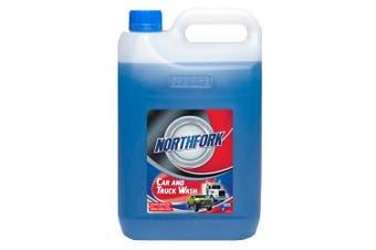 Northfork 5L Car & Truck Wash Liquid Cleaner/Degreaser/Grime/Bugs Remover