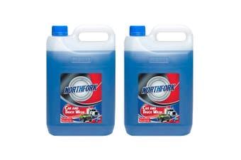 2x Northfork 5L Car & Truck Wash Liquid Cleaner/Degreaser/Grime/Bugs Remover