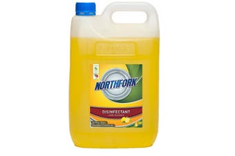 5L Northfork Disinfectant Lemon Bench/Floor/Bathroom Cleaning Sanitiser