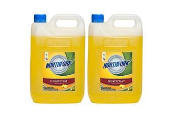 10L Northfork Disinfectant Lemon Bench/Floor/Bathroom Cleaning Sanitiser